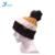 Hot sale 100% acrylic fashion knitted pom beanie hat