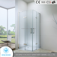 China new design hot sale sliding glass door shower enclosure
