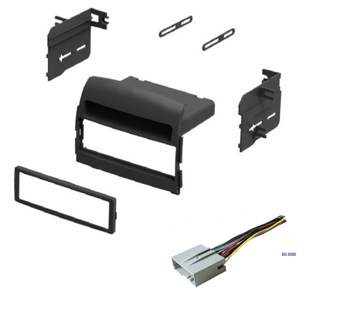 Get Quotations · Car Stereo Dash Kit and Wire Harness for Installing a new  Single Din Radio for 2006