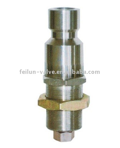 QF-T5 Stainless Steel CNG filling Adaptor Valve (6mm pipe fittings )
