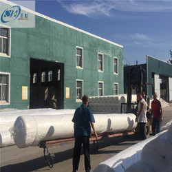 Polypropylene nonwoven white geotextile filter cloth