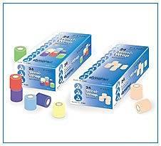 "Sensi Wrap, Self-Adherent 3"" x 5 yds Rainbow (4/color)-24/Case, Latex Content"