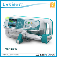 CE ISO Clinic Double-Channel portable vet syringe pump for pets