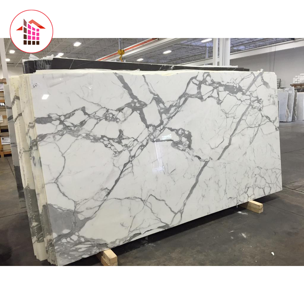 Various Specifications Factory Manufacturer natural Italy Statuario white marble