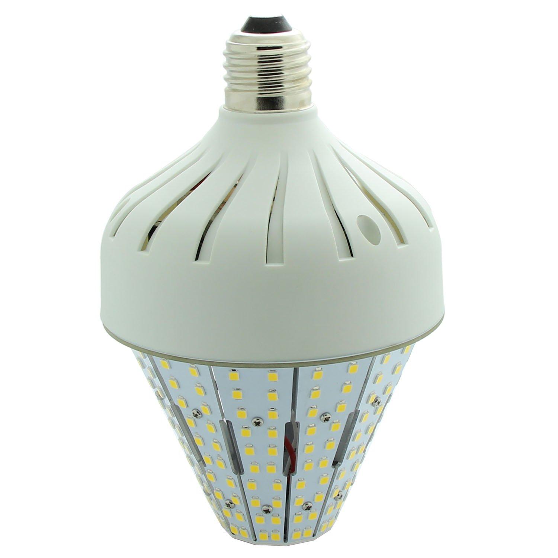 NUOGUAN 40 Watt Led Corn Lights E26 Medium Base 6000K Cool White 360 Degree Beam 5,400 Lumen LED Retrofit Lamp Replace ED17 175W HPS MH Bulbs for Garden Post Top Acorn Lighting