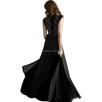 Women Summer Long Dressed Retro Vintage Floor Length S-2XL Plus Size Lace Dress Hollow Sleeveless Halter V-neck