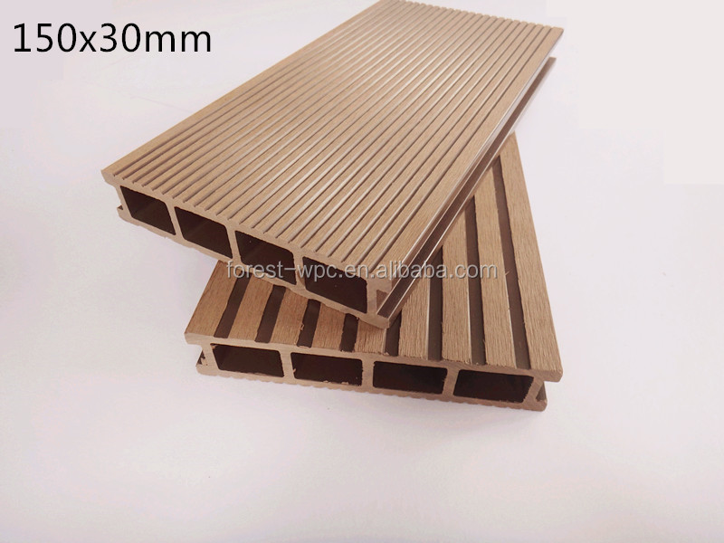 Wpc composite diy boardwalk deck cheap composite floor for Cheap composite decking