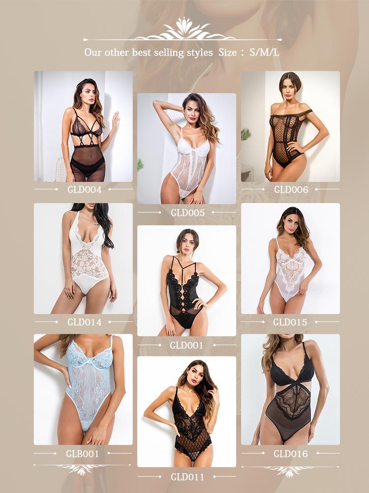 2019 New arrival bodysuit tuần trăng mật bralette sexy đồ lót