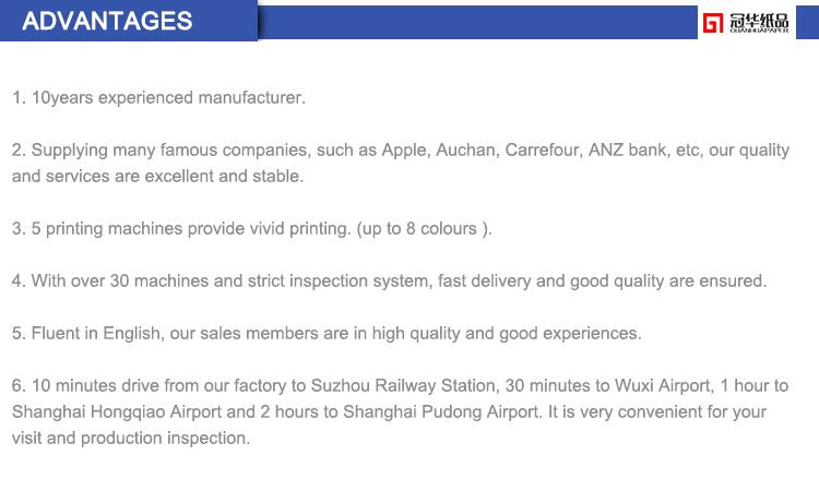 Rifornimento diretto della fabbrica di alta qualità di disegno di carta fatta a mano rotolo