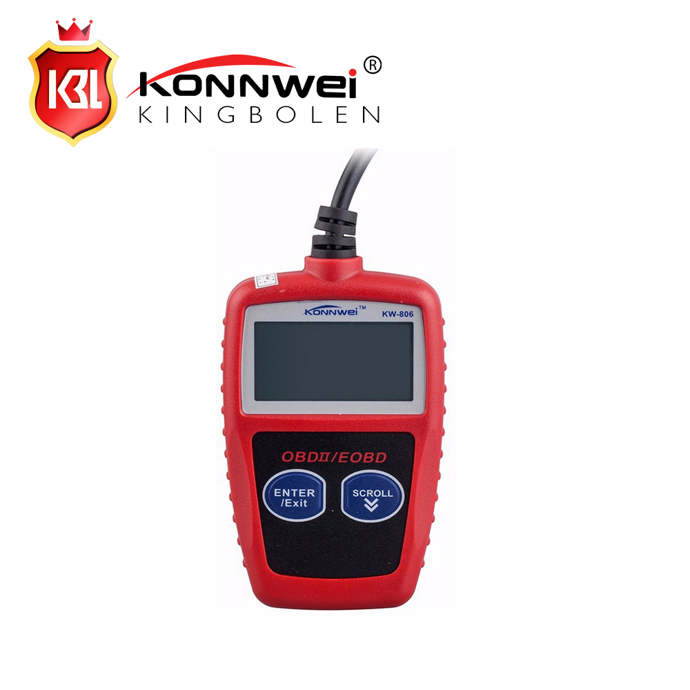 New arrival KONNWEI KW806 Code Reader CAN BUS OBDII Diagnostic Scanner Tool Scan Tool