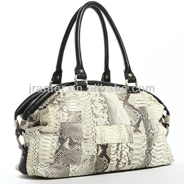 china genuine snake skin leather ladies handbag manufacturers luxury ladies shoulder bag