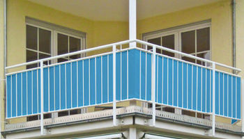 Balcony privacy cover fence screen balcony protection sun - Covering balcony for privacy ...