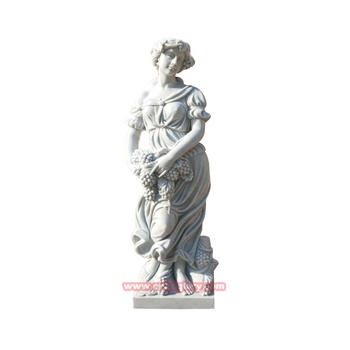 High Quality Stone Ornament Products Marble Harvest Goddess Figure Statue