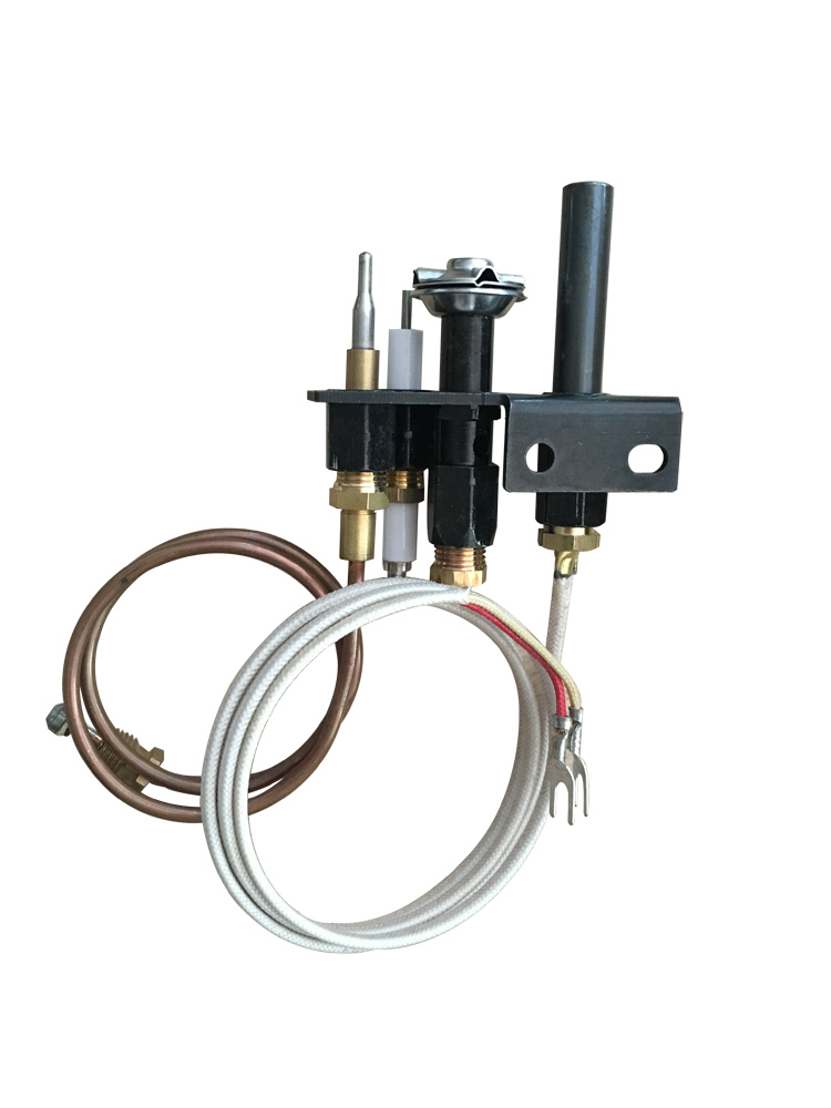 B880203 Europe Standard gas water heater parts pilot burner assembly