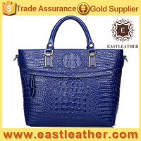 E1465 alibaba china supplier elegant unique crocodile skin tote bags manufacturer