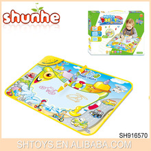 Educational Water Painting Doole Mat Colorful Water Doodle Mat For Kids Funny Doodle Mat Of Shantoy Chenghai Toys
