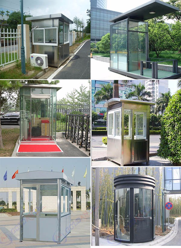 Modern Guard House Design: Modern Design Prefab Security Guard House/sentry Box