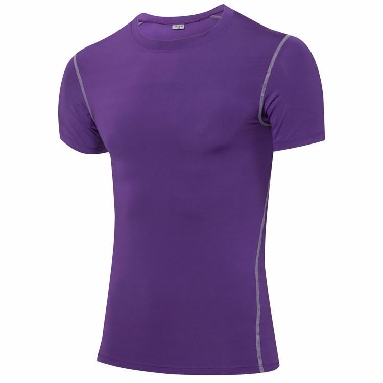 Men Oem Logo Sport Shirt Short Sleeve 5