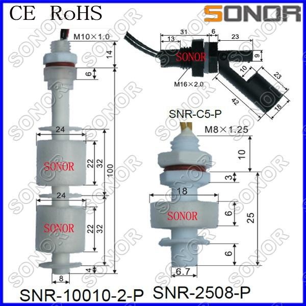 Float Type Level Switch Water Tank Float Switch Witch Ce