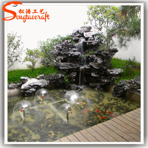 Indoor fountains and waterfalls indoor fountains and for Ornamental pond waterfall