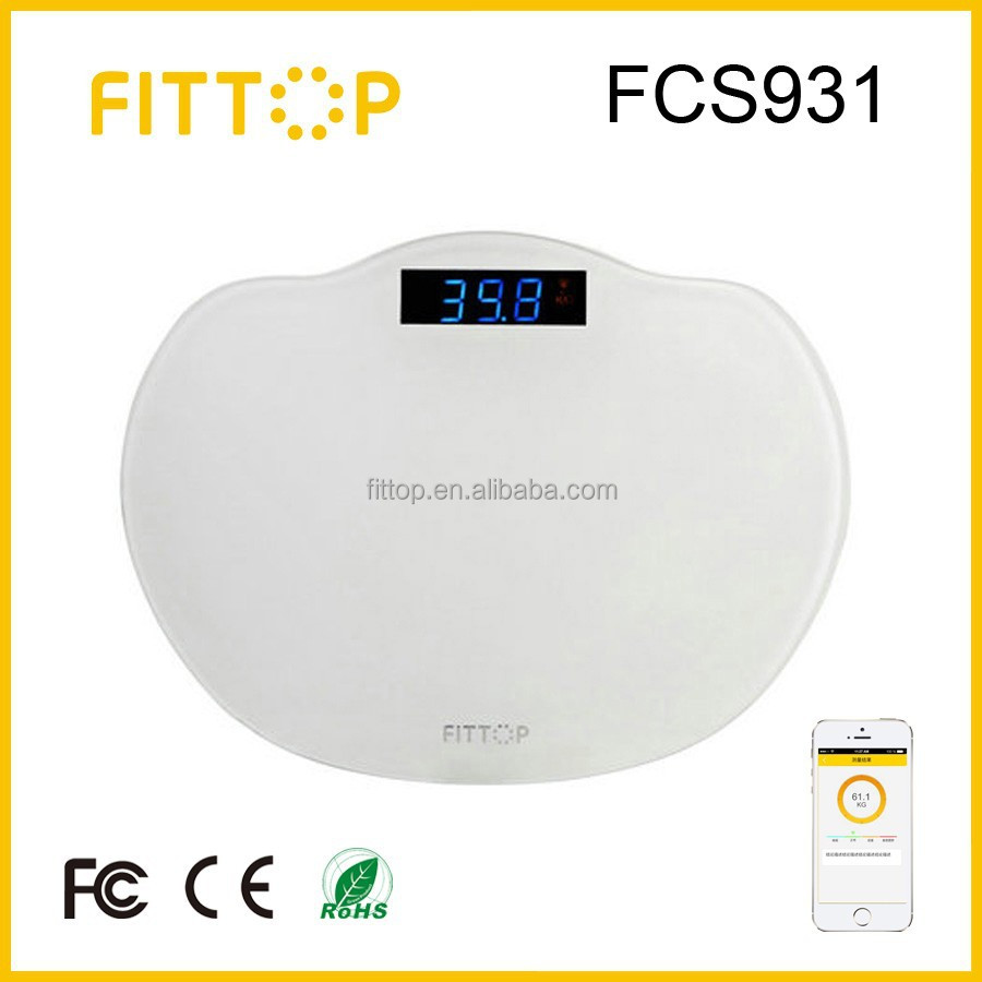 Fittop Digital Fitness Weight Scale with Smartphone APP