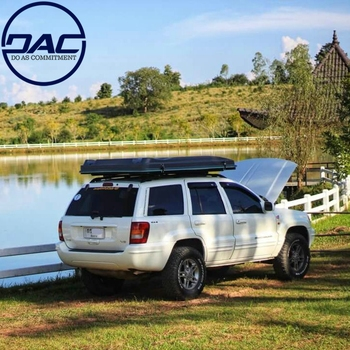 DAC Automatical Set up 4X4 Hard Shell Auto Car Roof Top Tent With Ladder