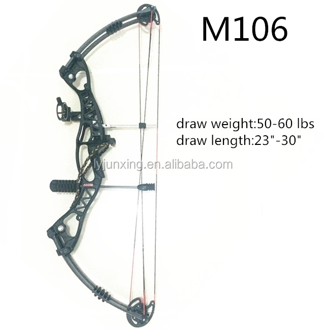 M106 Shooting Bow For Left And Right Hand Archery 60lbs Draw Weight