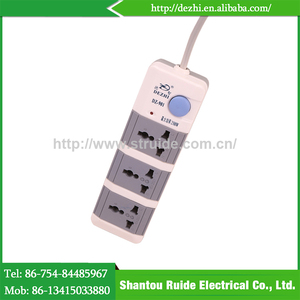 China goods wholesalel standard electrical plug outdoor power strip