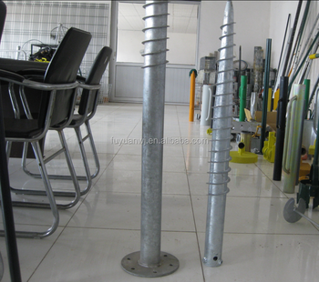 Post Anchor Screw Fence Post Spike Concrete Screw Anchor - Buy Concrete  Screw Anchor,Post Anchor Screw,Post Anchor Screw Fence Post Product on