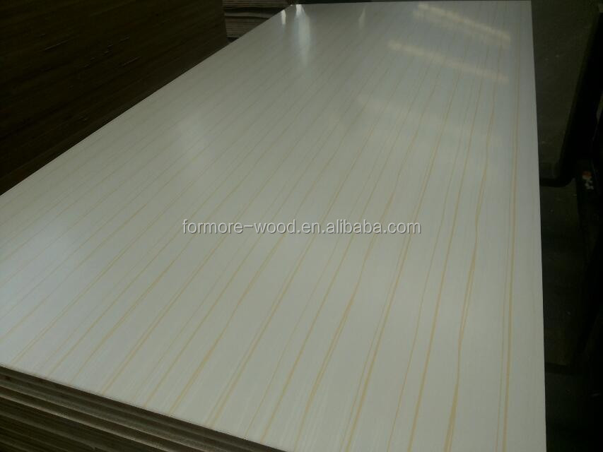Paper Faced Plywood ~ Wood grain melamine paper faced plywood buy