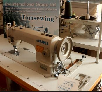 Used Walking Foot Sewing Machine Juki 1181 Top And Bottom ...