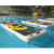 Hot Sale inflatable yoga mat on water