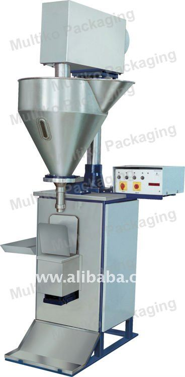 Semi Automatic powder filling machine with auger filler