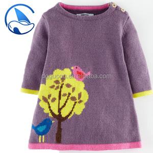 New Design Wool Baby Girl Sweater For Girl