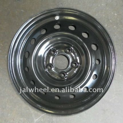 2017 Excellent Quality Steel Black Auto Car Wheel Rims 13x4.5