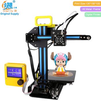2017 Nuevo Creality 3d Cr-7 V Ranura 3d Impresora De Metal 3d De Aluminio  Impresión Barato 3d Impresión Kits Diy Para Los Niños - Buy Kits De
