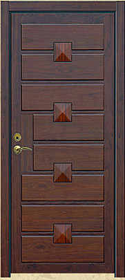 Merveilleux Homestead Series Raised Horizontal 5 Panel Interior Door