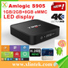 Android 5.1 TV Box T95M Amlogic S905 Quad Core Plactical Case 2G/8GB WiFi KODI set top Box Smart Tv Receivers