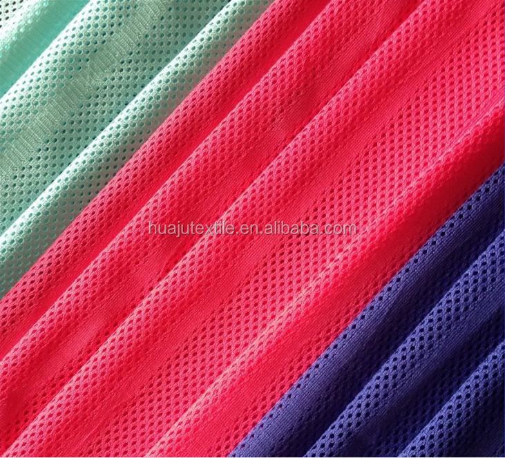 Good price cheap silk screen printing dye direct polyester fabric for sublimation printing knitting mesh flag fabric