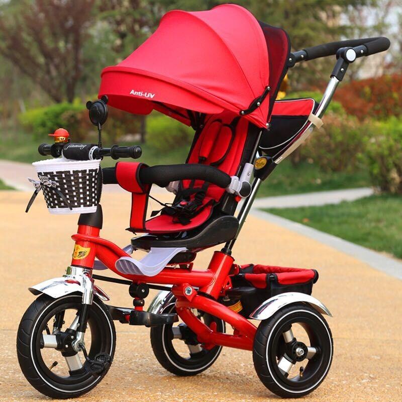 kids toys folding 3 in 1 baby trike kids smart trike kids pedal tricycle smart trike 3 in 1