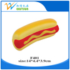 PU hot dog stress reliever / anti stress squeeze toy