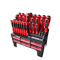 100pcs Screwdriver Set screwdriver tool kit with Magnetic Tips and Bits Set right angle screwdriver tool kit