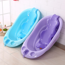 Elephant baby infants large tub shower basin of bath bucket thickening neonatal washbowl products