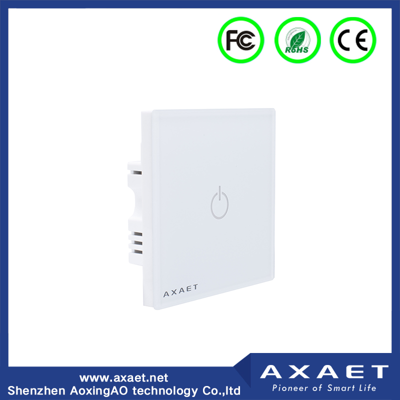 AXAET wall Bluetooth voice control electronics smart light gang switch with Mobile APP for iOS and Android