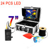 "F01A 7"" Monitor Affordable fish finders 30M 1000TVL Fish Finder Underwater Fishing Camera 24 IR LEDs"