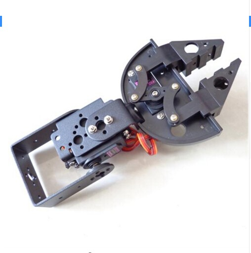 Newest Version Robot Clamp Gripper Paw Talon Claw Bracket Servo Mount Mechanical Claw Arm Kit For Mg995 Mg996 Sg5010 Servo Parts & Accessories Remote Control Toys