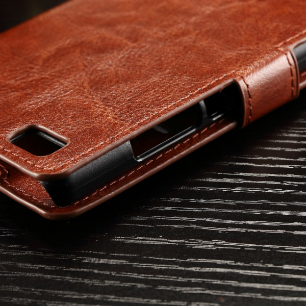 Available protective leather phone case for Huawei P8 Lite
