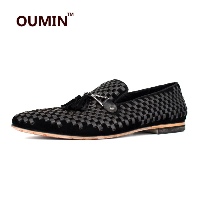 branded suede black Hot casual shoes loafers selling men tassel flat for 64gg5q