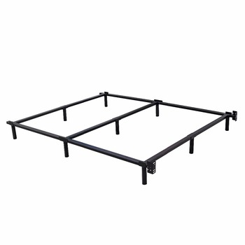 wrought iron retractable bed frame modern metal tube stainless steel adjustable bed frame - Modern Metal Bed Frame