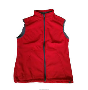 Supermarket uniform polar fleece vest